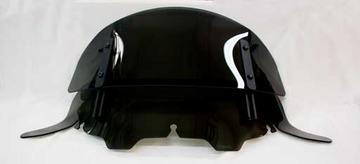 Adjustable Windshield for Harley Davidson