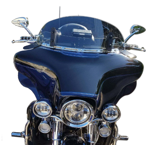 Adjustable Windshield on Ultra Classic